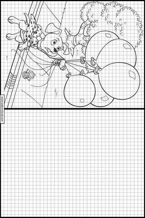 Zeichnen lernen 101 Dalmatiner malvorlagen 12