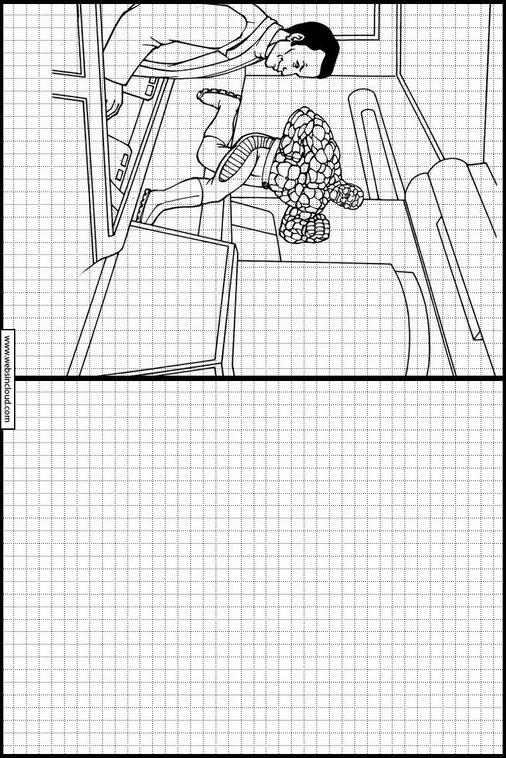 Hermosa Fantástico 4 Páginas Para Colorear Regalo - Ideas Para ...