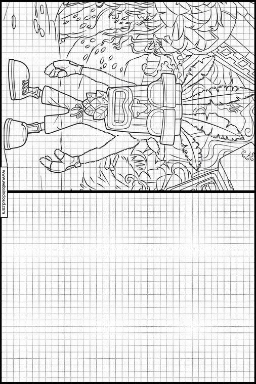 Zeichnen Lernen Crash Bandicoot 29