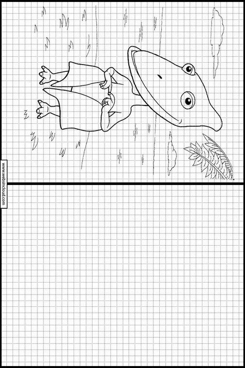 Druckendinosaurier Zug Zeichnen Lernen 4