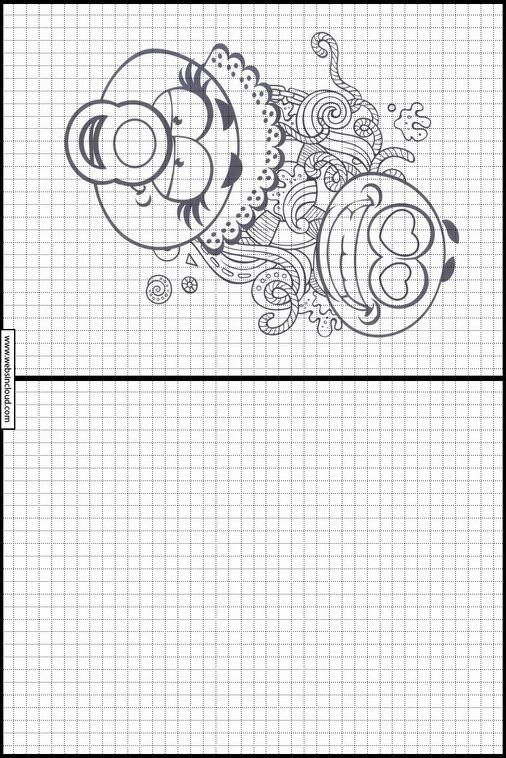 Desenhos Para Impressao Para Desenhar Emojis Emoticons 30