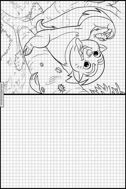 Imprimer Dessin Pour Reproduire La Garde Du Roi Lion 14