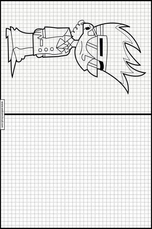Aprender a dibujar con actividades para niños Johnny Test 10
