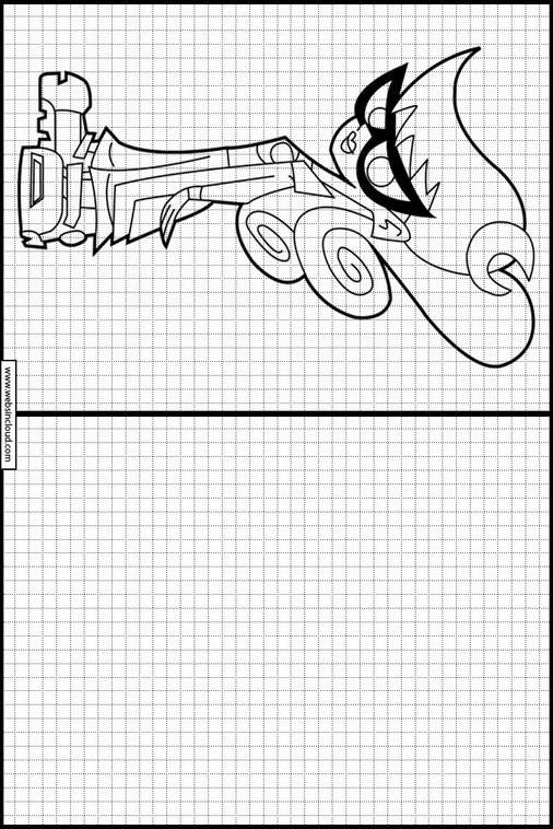Johnny Test dibujos para dibujar y colorear 9