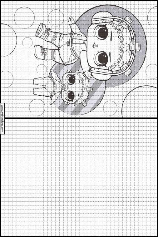 Actividades para niños aprendan dibujo l o l surprise 5