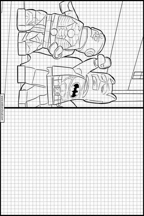 Contemporáneo Lego Batman Para Colorear Bromista Ilustración ...