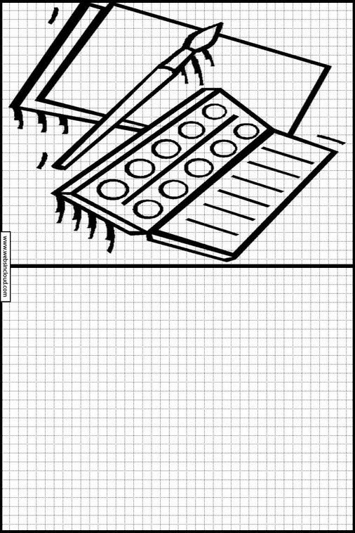 Zeichnen lernen Schule malvorlagen 36