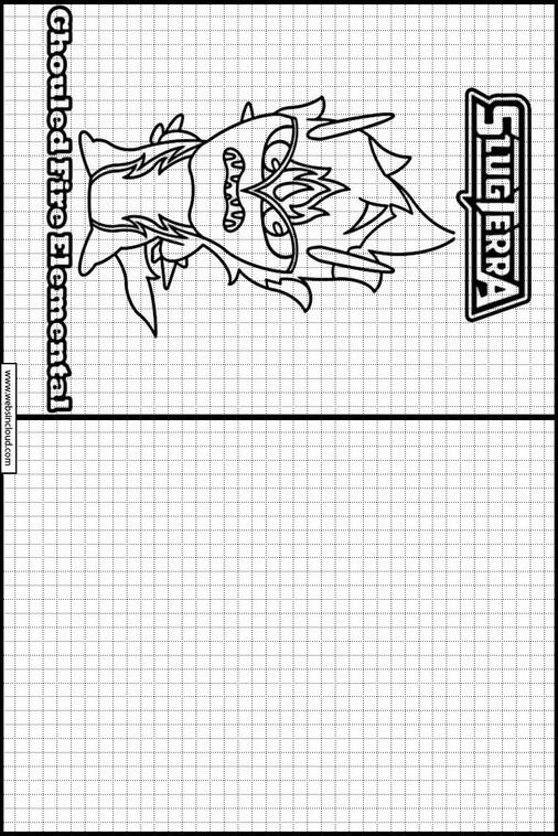 Slugterra dibujos para dibujar y colorear 9