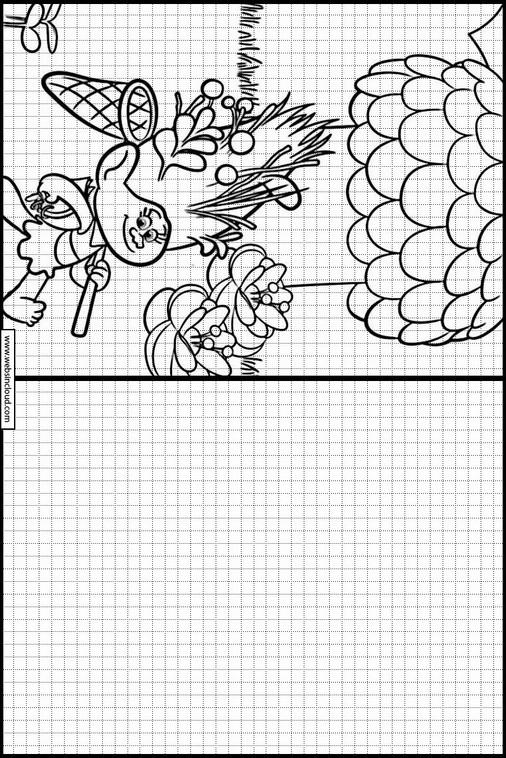 Zeichnen lernen Trolls malvorlagen 6