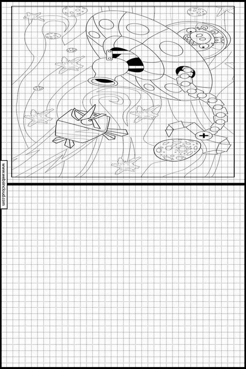 Atividades Para Aprender A Desenhar Angry Birds 4