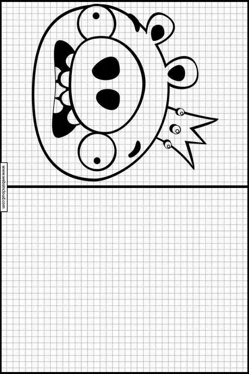 Atividades Para Aprender A Desenhar Angry Birds 70