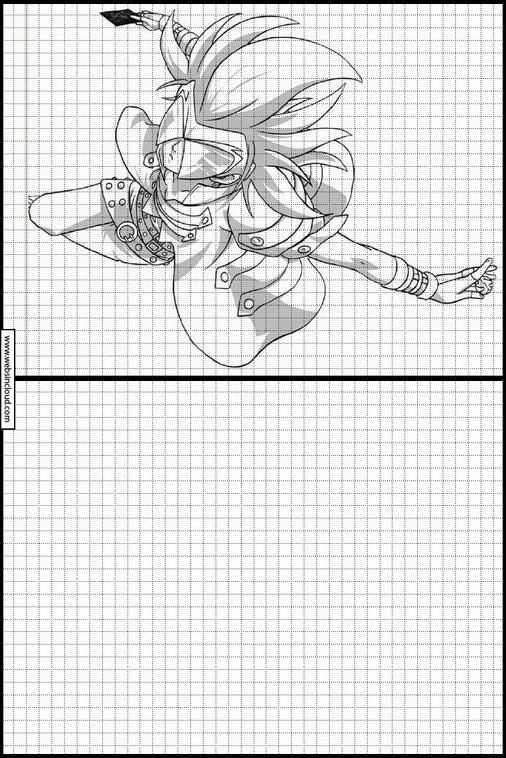 Bakugan dibujos para copiar y colorear 7