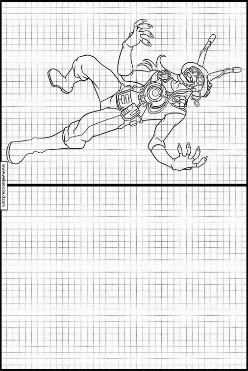 Zeichnen lernen Ben 10 ausmalbilder 11