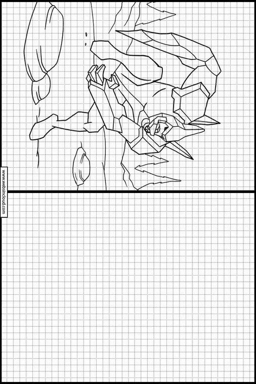 Ben 10 dibujos para dibujar y colorear 18