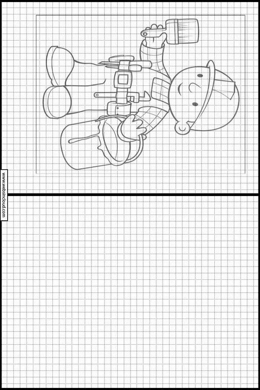 Bob el constructor dibujos para dibujar y colorear 9