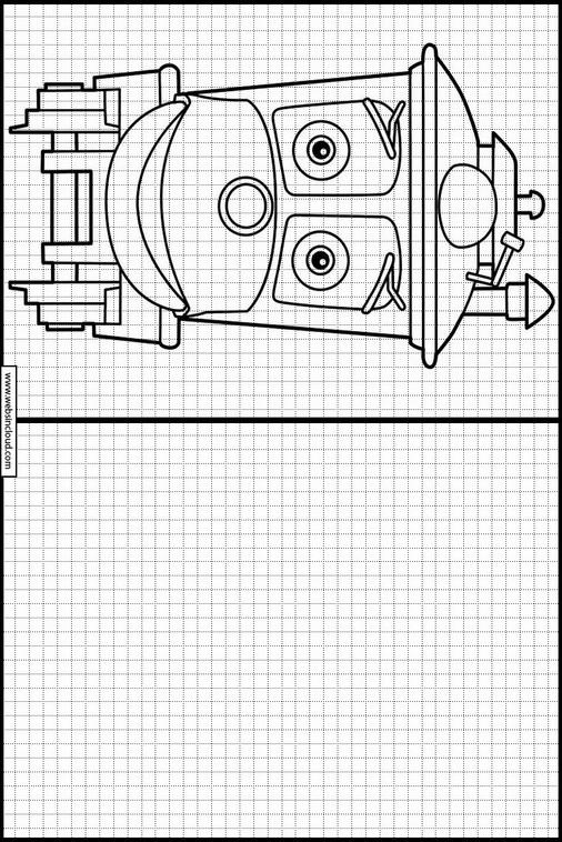 Lujoso Chuggington Para Colorear Imágenes - Dibujos Para Colorear En ...