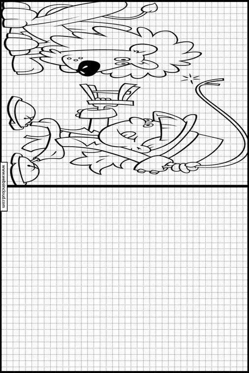 Zeichnen lernen Zirkus malvorlagen 12