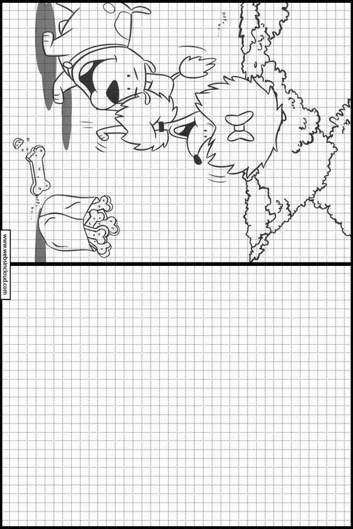 Aprender a pintar dibujos para niños Clifford 24