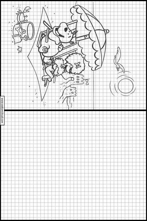 Clifford dibujos para copiar y colorear 5