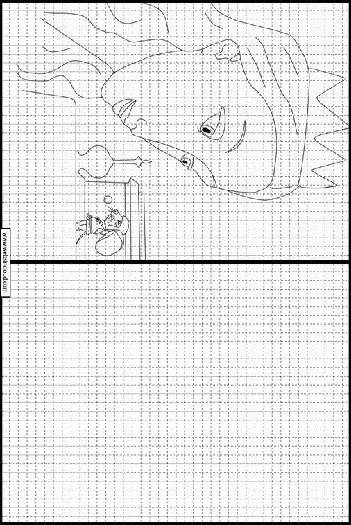 El valiente Despereaux dibujos para copiar y colorear 7