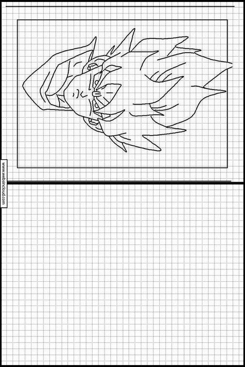 Dragon Ball Z Dibujos Para Copiar Y Colorear 16