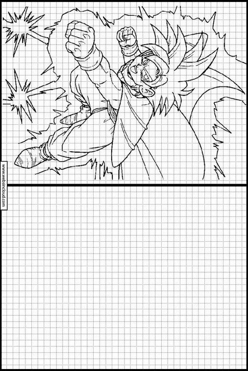 Actividades Para Niños Aprendan Dibujo Dragon Ball Z 41