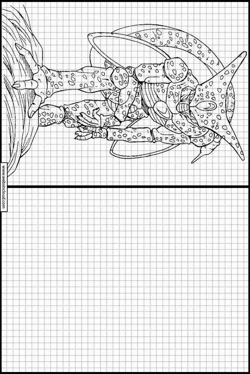 Dragon Ball Z Dibujos Para Copiar Y Colorear 70