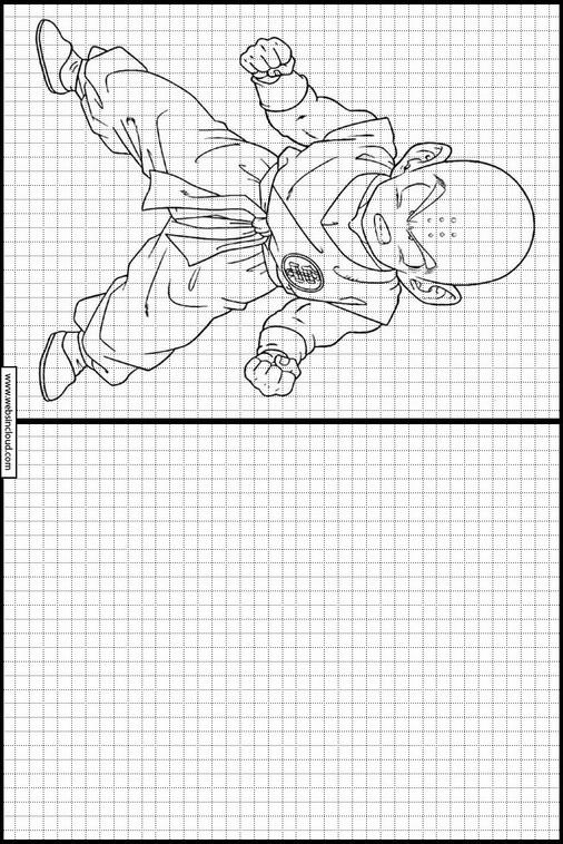 Desenhos Para Impressão Para Desenhar Dragon Ball Z 84