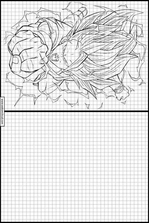 Actividades Para Niños Aprendan Dibujo Dragon Ball Z 95