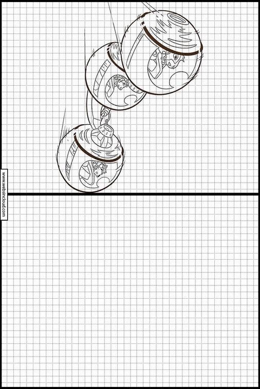 G-Force dibujos para copiar y colorear 5