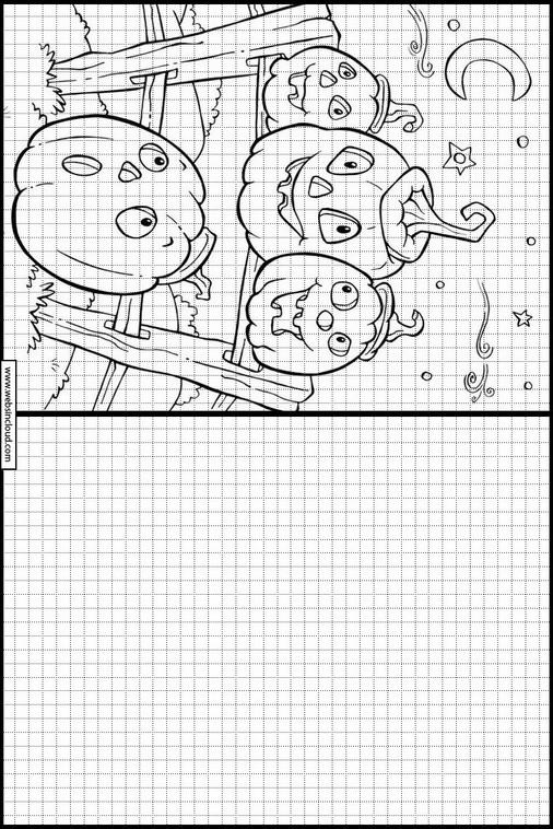 Halloween Zeichnen Lernen Für Kindern 55