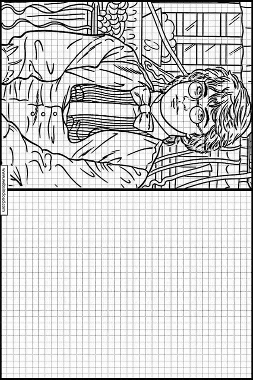 Zeichnen lernen Harry Potter malvorlagen 42