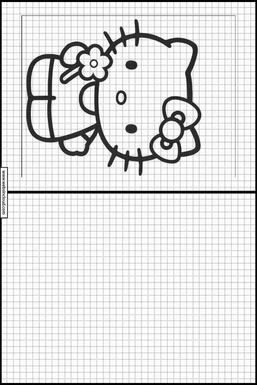 Imprimer Dessin Pour Reproduire Hello Kitty 4
