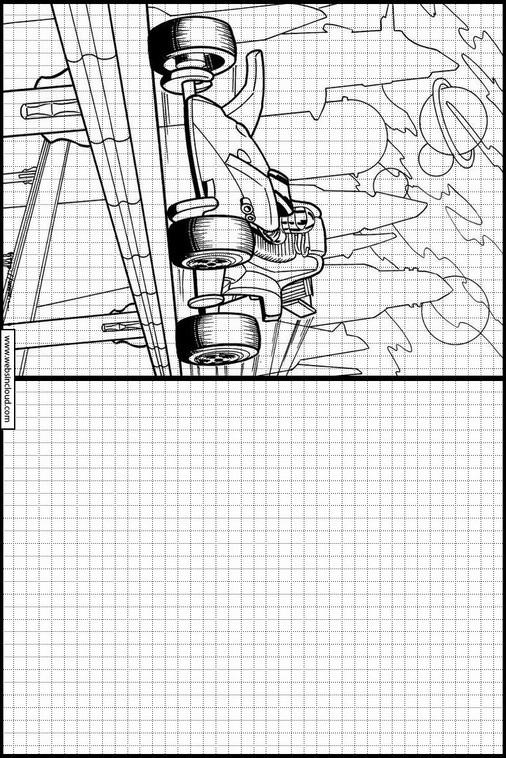 Zeichnen lernen Hot Wheels malvorlagen 18