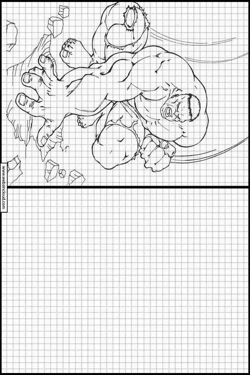 Bonito Increíble Hulk Cara Para Colorear Colección - Dibujos Para ...