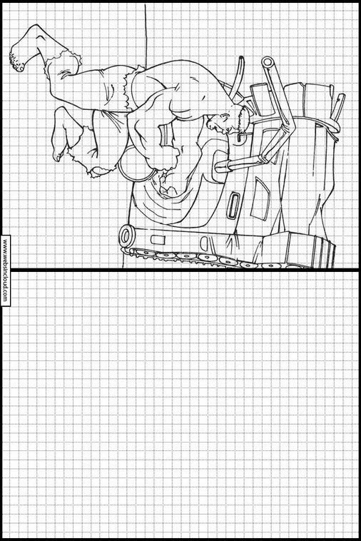 Zeichnen lernen Hulk malvorlagen 42