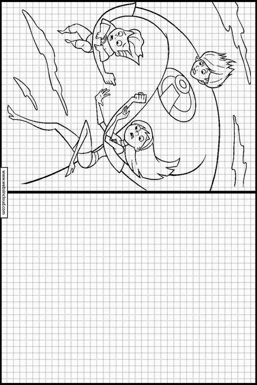 Único Página Para Colorear De Incredibles Viñeta - Enmarcado Para ...