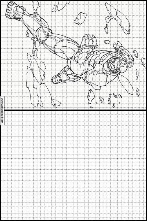 Zeichnen lernen Iron Man malvorlagen 12