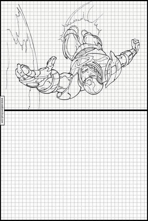 Zeichnen lernen Iron Man malvorlagen 18