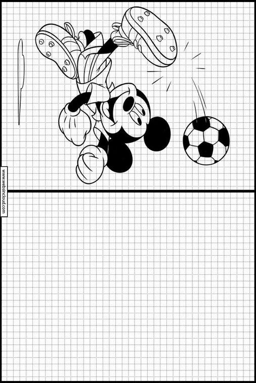 Zeichnen Lernen Micky Maus Ausmalbilder 23