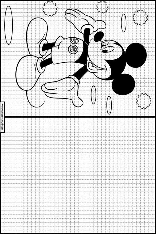 Micky Maus Ausmalbilder : Zeichnen Lernen Micky Maus Ausmalbilder 29