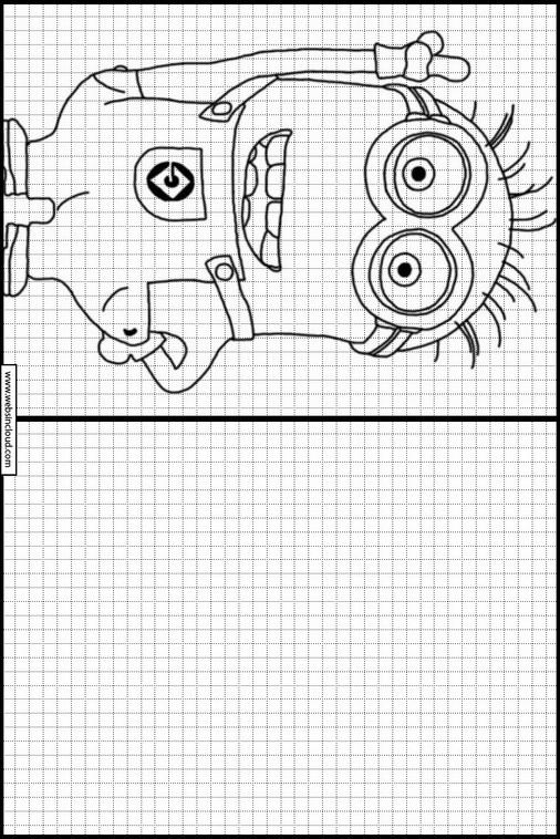 Dibujos Faciles Para Aprender A Dibujar Minions 4