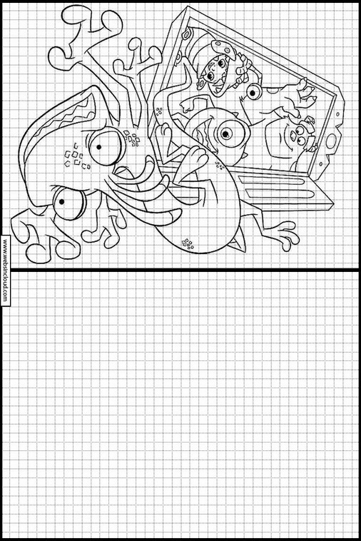 Monstres et Cie - Academy 48