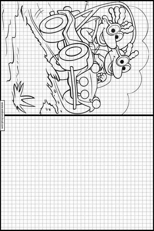 Muppets dibujos para copiar y colorear 21