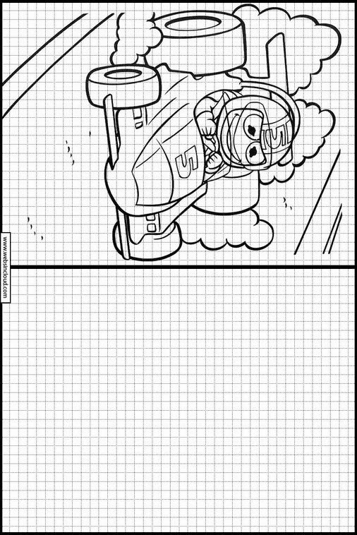 Zeichnen lernen Muppets malvorlagen 54