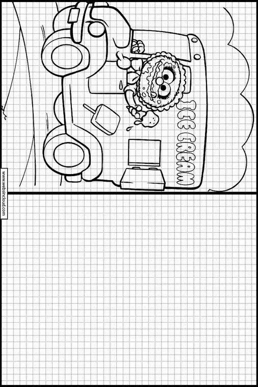 Muppets dibujos para dibujar y colorear 9