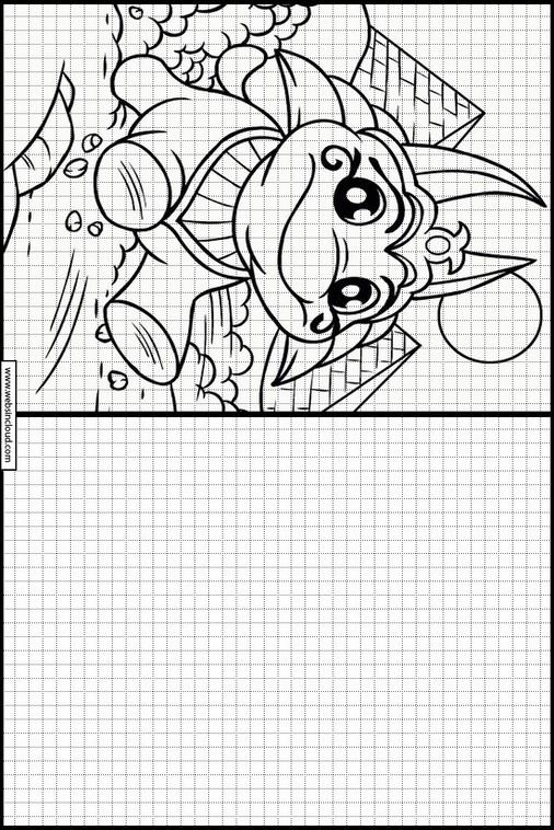Magnífico Dr Seuss Para Colorear Horton Oye A Quien Patrón - Ideas ...