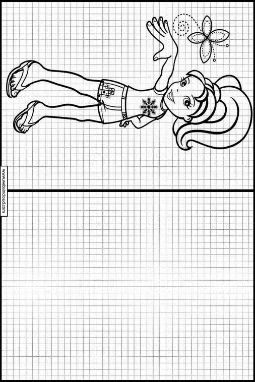 Polly Pocket Zeichnen Lernen Kindern 25