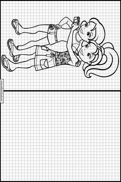 Kinder Lernen ZeichnenPolly Pocket 25