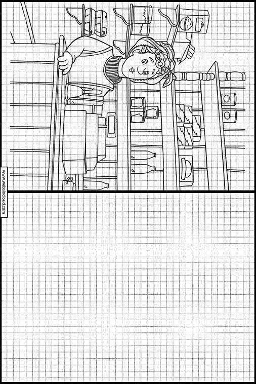 Zeichnen Lernen Feuerwehrmann Sam Ausmalbilder 5